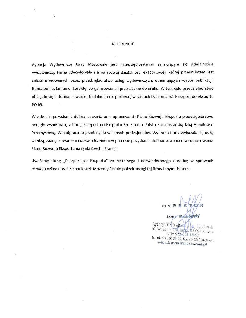 Agencja Wydawnicza Jerzy Mostowski