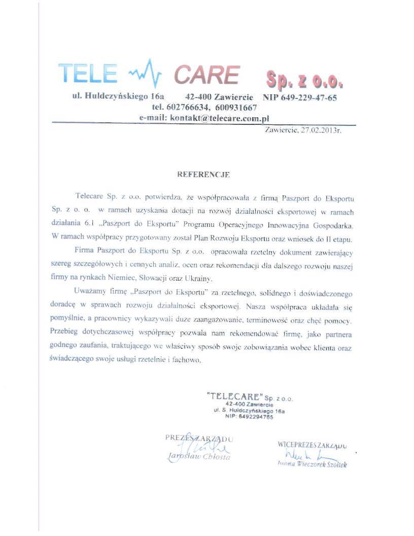 Telecare